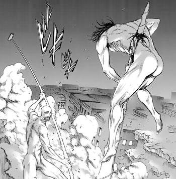 戦槌のタケノコ攻撃